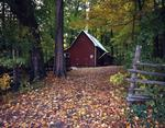 Ontario: Waterloo area - sugar bush shanty to north of town