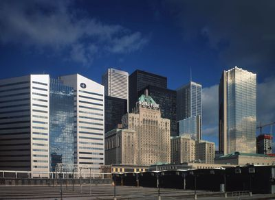 Royal Bank and surrounding buildings