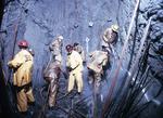 LAC Minerals Macassa #3: world's deepest timbered shaft