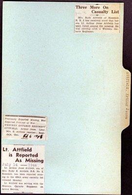 Page 151: Attfield, Arthur Jesse
