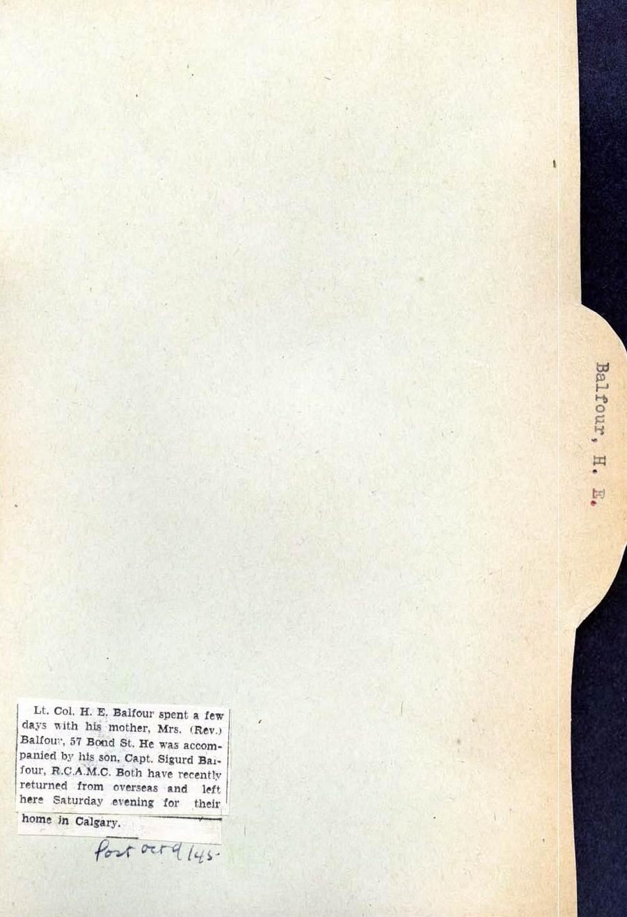 Page 205: Balfour, H. E.