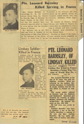 Page 245: Barnsley, Leonard Ross