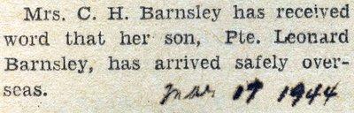 Barnsley, L.