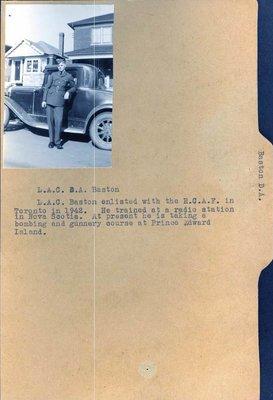 Page 257: Baston, D. A.