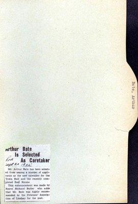 Page 259: Bate, Arthur