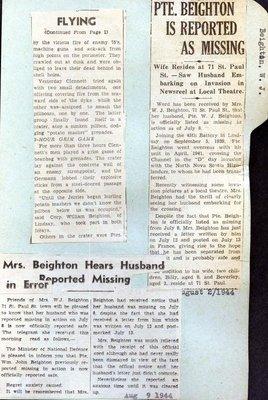 Page 277: Beighton, William John