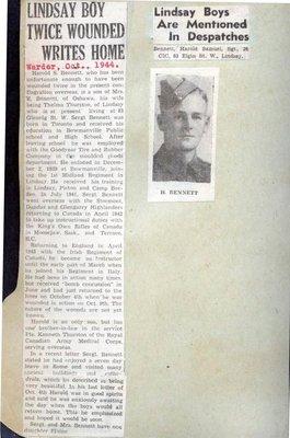 Page 284: Bennett, Harold Samuel