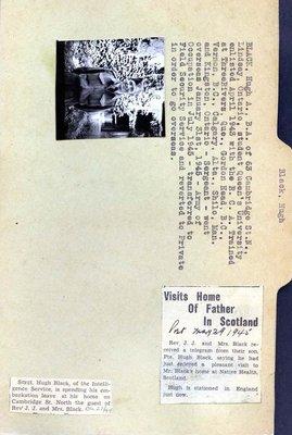 Page 1: Black, Hugh A.
