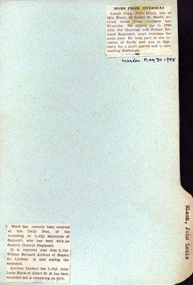 Page 5: Black, John Louis