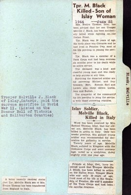 Page 9: Black, Melville J.