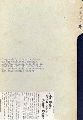 Page 31: Boice, Lyle