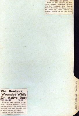 Page 57: Bowbrick, George Henry