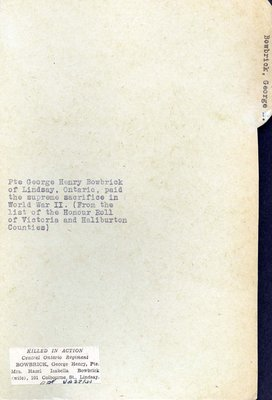 Page 58: Bowbrick, George Henry