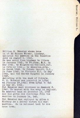 Page 74: Brasier, William G.
