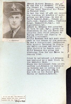 Page 87: Brennan, Edward Richard [Ted]