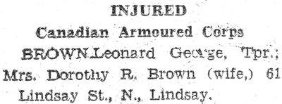 Page 133: Brown, Leonard George