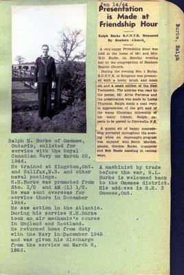 Page 165: Burke, Ralph H.