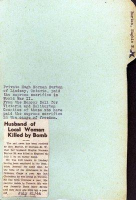 Page 173: Burton, Hugh Norman