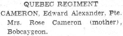 Cameron, E.