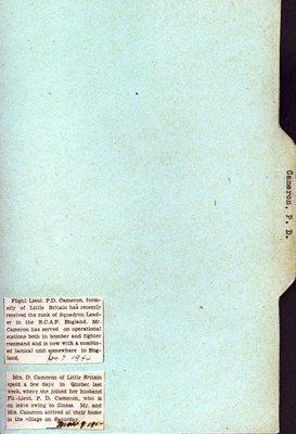 Pages 19-20: Cameron, P. D.