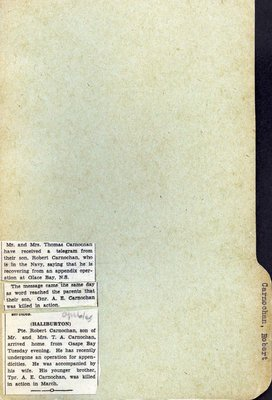 Pages 49-50: Carnochan, Robert
