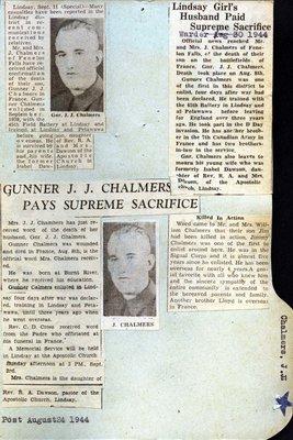 Pages 69-70: Chalmers, J. J. (Jim)