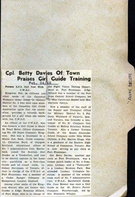 Page 23: Davies, Betty