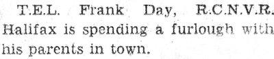 Day, F.