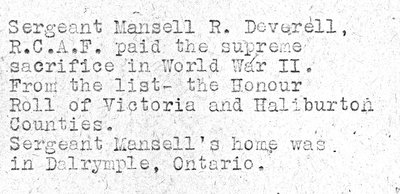 Page 71: Deverell, Mansell R.