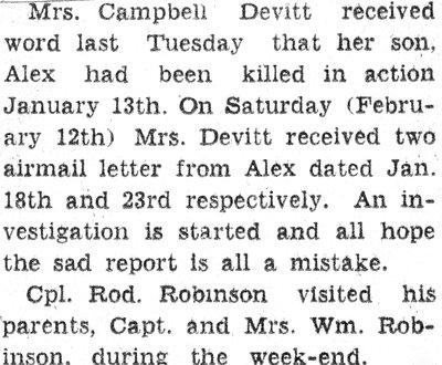 Page 73: Devitt, Alex