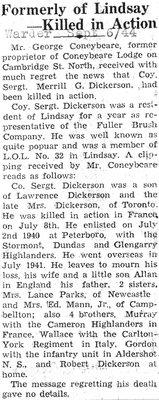 Page 85: Dickerson, Merrill