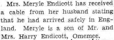 Endicott, M.