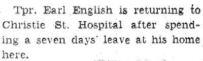 English, E.