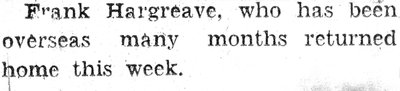 Hargreaves, F.