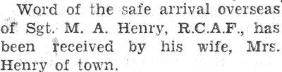 Henry, M.A.