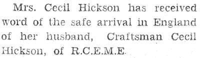 Hickson, C.