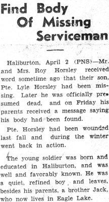 Horsley, L.