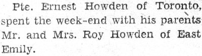 Howden, E.