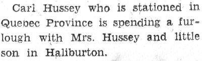 Hussey, C.
