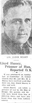 Hussey, L.