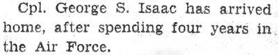 Isaac, G.