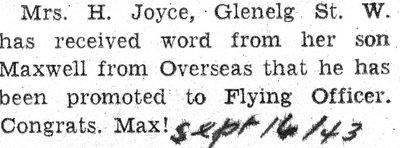Joyce, M.