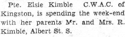 Kimble, E.