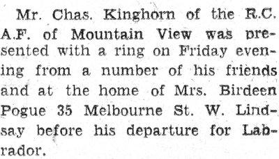 Kinghorn, C.