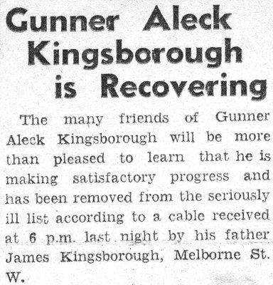 Kingsborough, A.