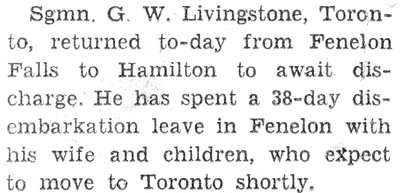 Livingstone, G.W.