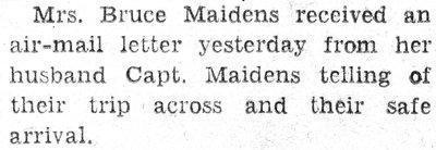 Maidens, B.
