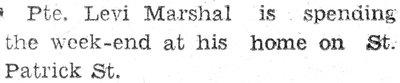 Marshal, L.