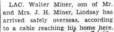 Miner, W.