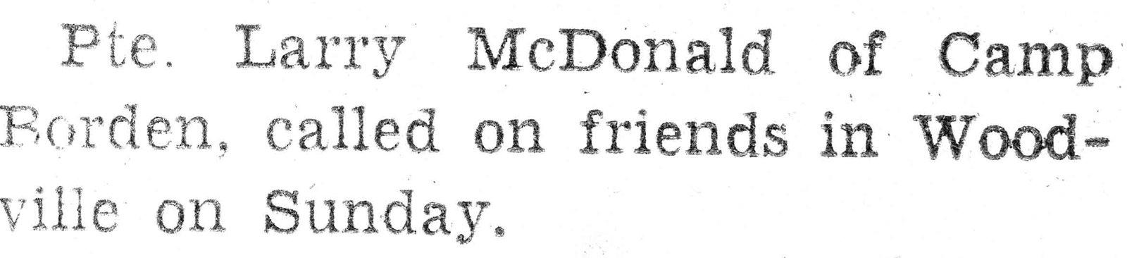 McDonald, L.